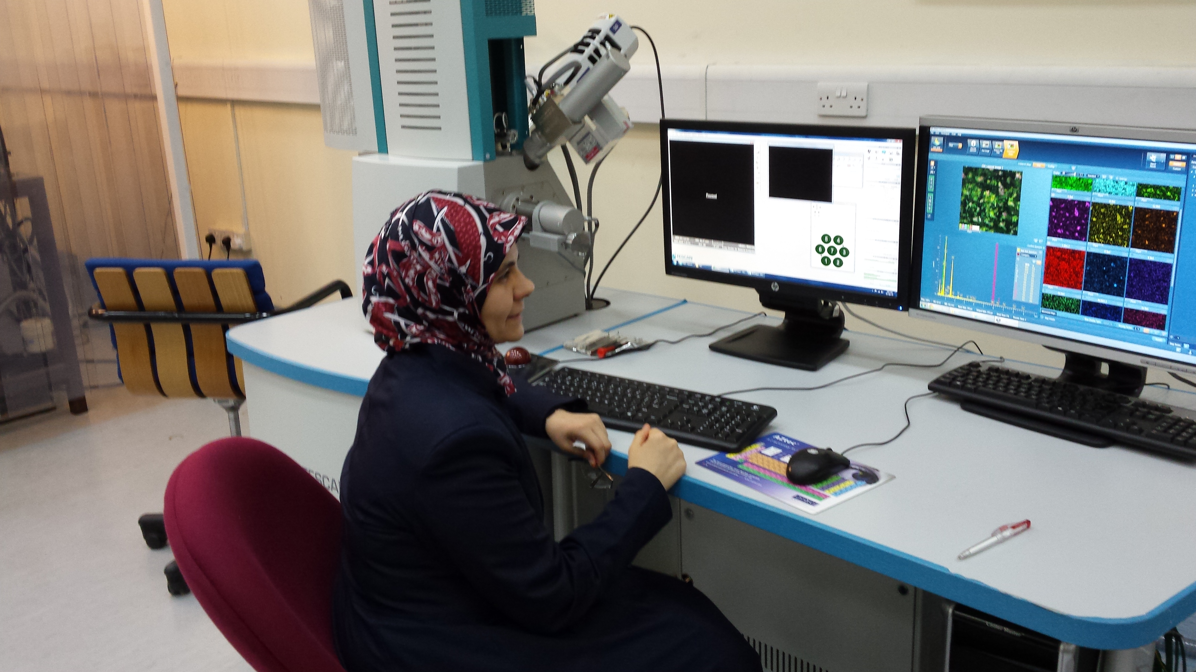 Hanan Sa'adeh @ X-ray Lab of the University of Sharjah.jpg